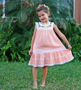 Peach Sally Dress