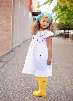 Sonia White Button Down Dress