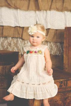 Irene Ibiza Baby Dress Natural
