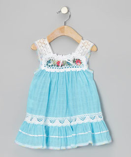 Irene Ibiza Baby Dress Blue