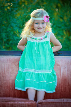Mint / Jade Sally Dress