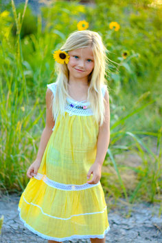 Sunny Yellow Sandy Dress