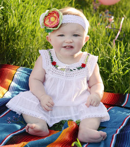 Lucila Baby White