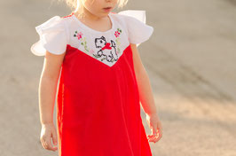 Red Scottish Dog Dress