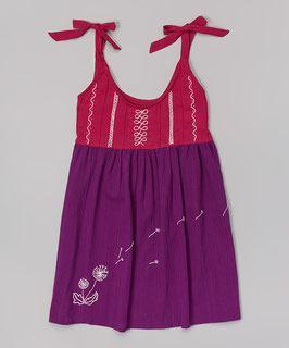 Dandelion Baby Purple  Dress