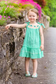 Ella Ibiza Pinafore Baby Mint