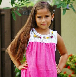 Sandy Fuchsia Dress