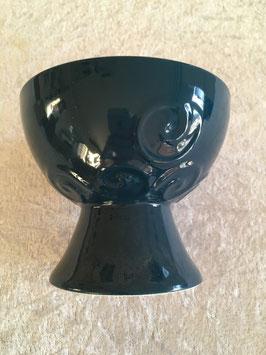 Räucherkelch Keramik petrol