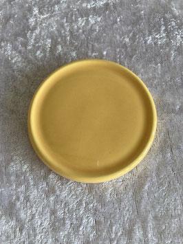 Keramik Unterteller gelb