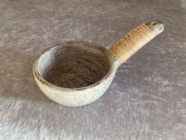 Räucherschale whitewash mit Griff