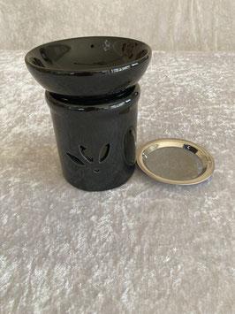 Duftlampe Weihrauchbrenner Keramik antrazit