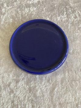 Keramik Unterteller dunkelblau