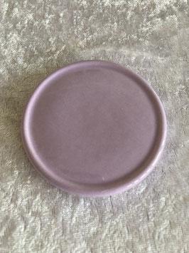 Keramik Unterteller flieder