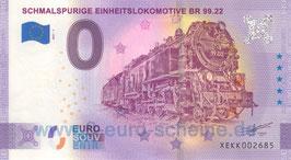 Schmalspurige Einheitslokomotive BR 99.22 (Anniversary 2021-1)