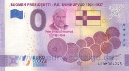 Suomen Presidentti - P.E. Svinhufvud (Anniversary 2021-3)
