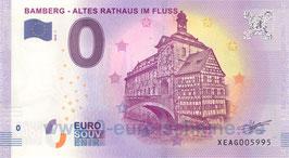Bamberg - Altes Rathaus im Fluss