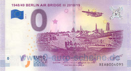 1948/49 Berlin Air Bridge III 2018/19 (Luftbrücke 2018-3)