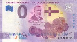 Suomen Presidentti - L.K. Relander (Anniversary 2021-2)