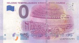 Helsinki Temppeliaukion Kirkko - Rock Church (2019-1)