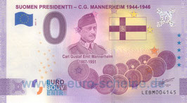 Suomen Presidentti - C.G. Mannerheim (Anniversary 2021-6)