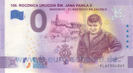 100. Rocznica Urodzin Św. Jana Pawła II (2020-1)