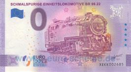 Schmalspurige Einheitslokomotive BR 99.22 (Anniversary 2021-2)