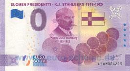 Suomen Presidentti - K.J. Ståhlberg (Anniversary 2021-1)