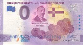 Suomen Presidentti - L.K. Relander (2021-2)