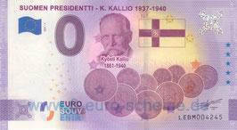 Suomen Presidentti - K. Kallio (Anniversary 2021-4)