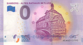 Bamberg - Altes Rathaus im Fluss (2020-1)