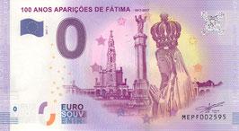 100 Anos das Aparições de Fátima (Fatima-Erscheinung)
