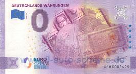 Deutschlands Währungen (2020-18)