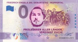 Friedrich Engels 200. Geburtstag - Wuppertal (Anniversary 2020-1)