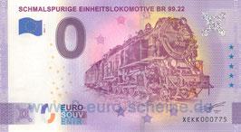 Schmalspurige Einheitslokomotive BR 99.22 (2021-1)