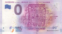 Hainburg a.d. Donau - Mosaik nach Hundertwasser (2019-1)