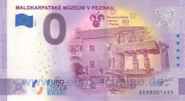 Malokarpatské Múzeum v Pezinku (2020-1)