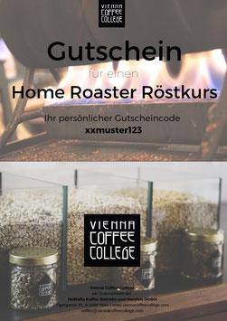Geschenkgutschein - Home Roaster Röstkurs