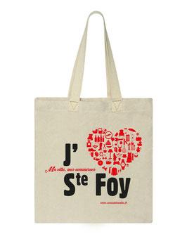 Sac J'Aime Ste Foy, j'achète à Ste Foy