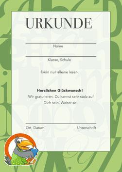 URKUNDE - für die Lesestufe 3