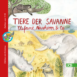Tiere der Savanne - Elefant, Nashorn & Co.
