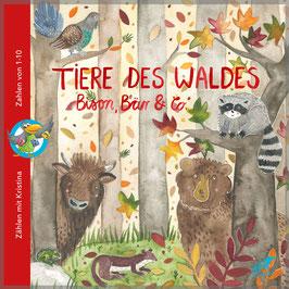 Tiere des Waldes - Bison, Bär & Co.