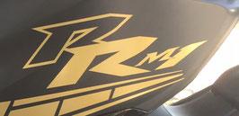 """2 lettrages """"RR M1""""  pour les ailes avant de phase 3"""