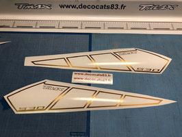 Déco Racing ajouré pour les ailes avant de phase 4 (modèle N°4)