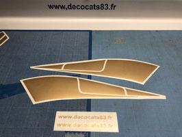 Déco Racing des ailes arrière modèle n°3 de phase 3