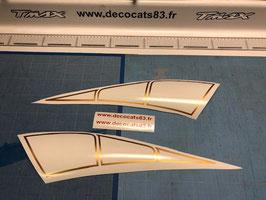 Déco pour les ailes arrière ajouré modèle N° 4 pour phase 3