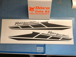 Déco Racing pour les ailes avant de phase 5 (modèle N°3)