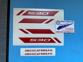"""Déco Tech MAX """"modèle pour 530"""" Modèle 1"""