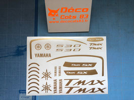"""Planche déco pour """"Tmax SX"""" phase 4"""