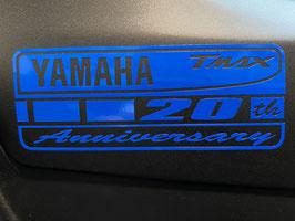 """Stickers Anniversaire des 20 ans du Tmax """"rectangulaire"""""""