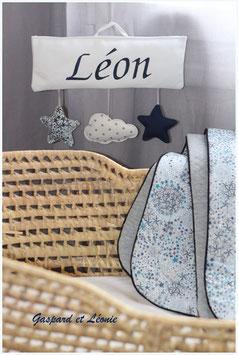 **Réservée Charlène** Plaque de  porte pour Léon
